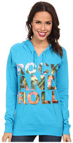 Rock and Roll Cowgirl Long Sleeve Knit with Hood