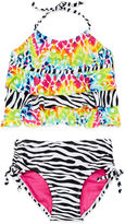 INTERNATIONAL ASSORTED BRANDS Big Chill Triple Tier 2-pc.Tankini Swimsuit - Girls 7-16