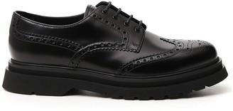 Prada Lace-Up Brogue Shoes