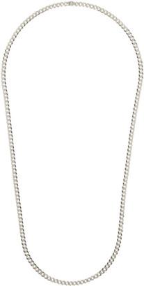 Saskia Diez Silver Grand Narrow Necklace