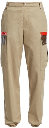 artica-arbox Cotton Cargo Pants