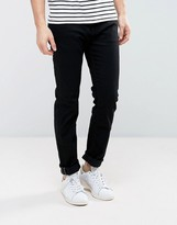 Tommy Hilfiger Bleecker Slim Jeans In Clean Black