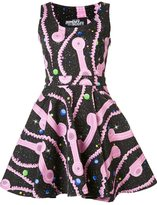 Jeremy Scott phone print dress