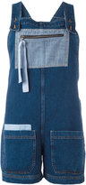 Semi-Couture Semicouture - denim dungarees - women - Cotton - 38