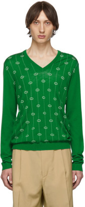 Gucci Green GG Sweater