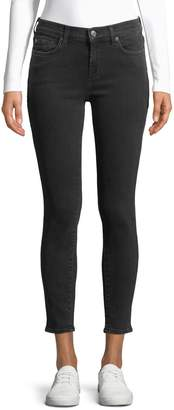 7 For All Mankind Ankle-Length Skinny Jeans