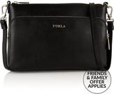Furla Royal XL Cross-Body Pouch- Black