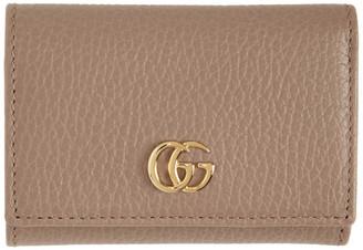 Gucci Pink Medium GG Marmont Wallet