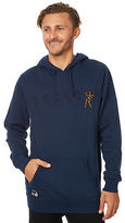 RVCA New Men's Line Dance Mens Pullover Hood Long Sleeve Cotton Blue