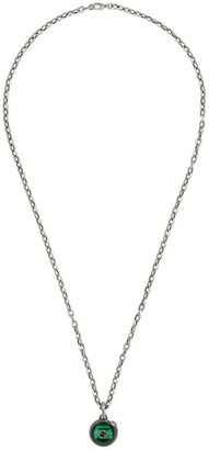 Gucci Garden silver necklace