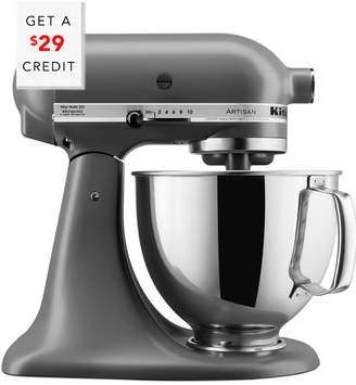KitchenAid Artisan Series 5Qt Tilt - Head Stand Mixer - Ksm150psfg With $29 Credit