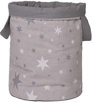 Camilla And Marc Funny Baby 608200 - juguetero Padded 30 x 40 cm, Design Stars, Grey