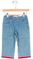 Agatha Ruiz De La Prada Boys' Flat Front Five Pocket Jeans