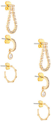 Ettika Hoop Earring Set