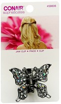 Sophisticates Butterfly Jaw Hair Clip Silver