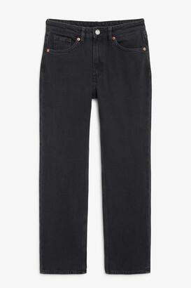 Monki Ikmo washed black jeans