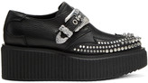 McQ by Alexander McQueen Black Nevada Creeper Monkstraps