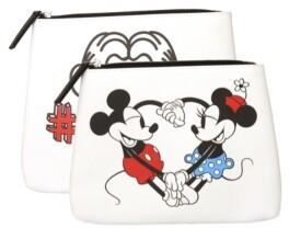 Disney Mickey & Minnie Travel Pouch Set of 2