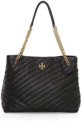 Tory Burch Kira Chevron Leather Tote