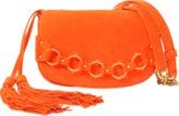Roberto Cavalli Flap Pompon bag