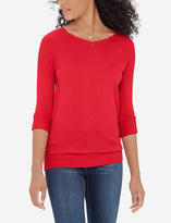 The Limited Fitted V-Neck Pullover