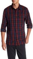 Vince Long Sleeve Plaid Woven Shirt