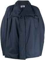 Issey Miyake 132 5. oversized high neck jacket