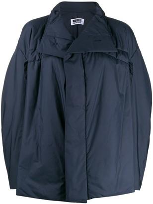 132 5. ISSEY MIYAKE Oversized High Neck Jacket