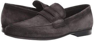 To Boot Corbin (Grey Suede) Men's Slip on Shoes