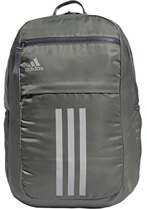 adidas League 3 Stripe Backpack (Jersey Onix/Black) Bags