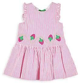 Florence Eiseman Little Girl's Strawberry Treat Seersucker Dress