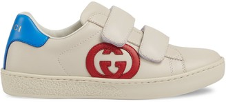 Gucci Toddler Ace sneaker with Interlocking G