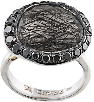 Rosa Maria Baskar oversized ring