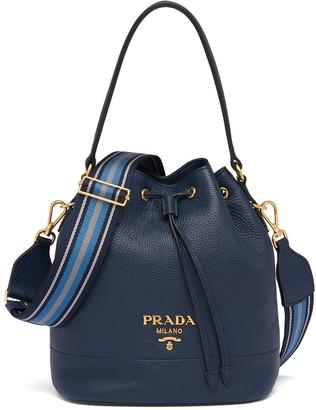 Prada Leather Bucket Bag