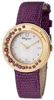 Salvatore Ferragamo Gancino Sparkling Collection FF5940015 Women's Quartz Watch