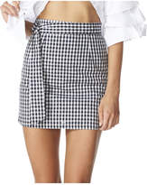 Lioness Last Dance Gingham Mini Skirt