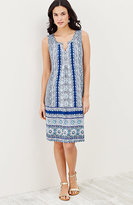 J. Jill Favorite Printed Knit Dress