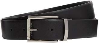 Giorgio Armani Grained Leather Belt