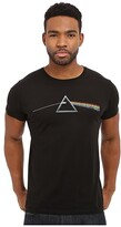 Original Retro Brand The Vintage Cotton Short Sleeve Pink Floyd Tee (Black) Men's T Shirt