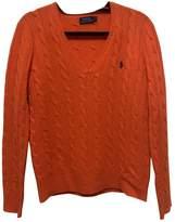Polo Ralph Lauren Orange Cashmere Knitwear