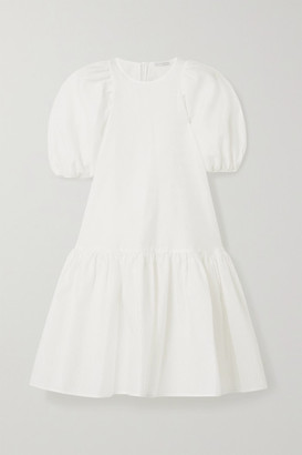 Cecilie Bahnsen Alexa Oversized Tiered Cloque Dress