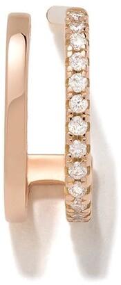 VANRYCKE 18kt rose gold Charlie diamond earring