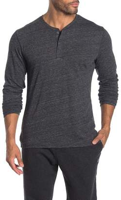 Public Opinion Heathered Nep Henley Shirt