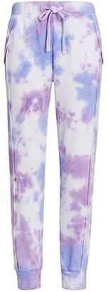 Free People Tie-Dye Slim Joggers