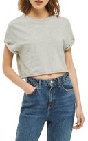 Topshop Women's Roll Crop Tee
