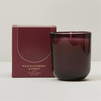 Indigo Scents Poured Glass Candle Wild Blackberry & Honey