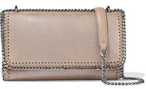Stella McCartney Falabella Faux Brushed-leather Shoulder Bag