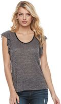 Juicy Couture Women's Embellished Flutter Tee