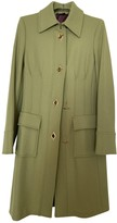 Ballantyne Green Wool Coat for Women