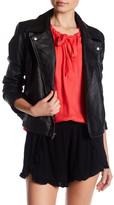 Jack Blossom Faux Leather Jacket